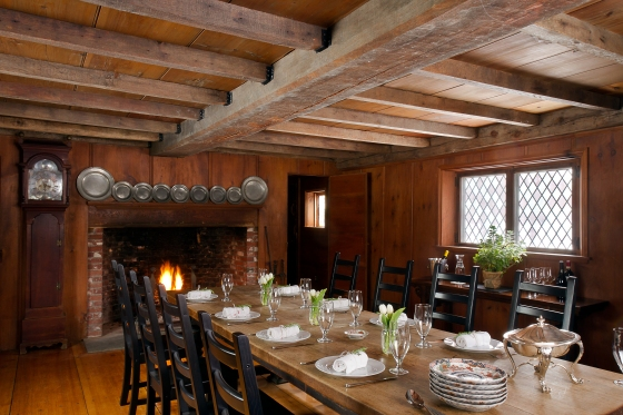 Saltbox Farm - The Little House Dining Room